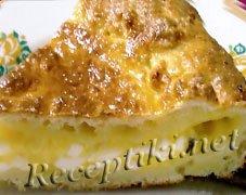 Пирог с сырной начинкой