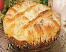 """Яблочный пирог """"Праздничный"""""""