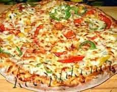 """Пицца с сыром """"Домашняя"""" на тесте без яиц"""