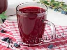 Кисель из сока или ягодного пюре