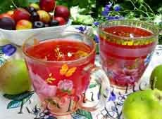 Компот из свежих фруктов или ягод