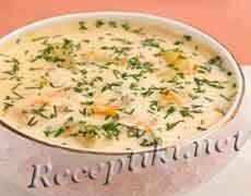 Французский суп с шампиньонами