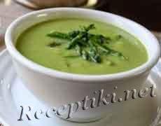 Крем-суп из спаржи «Сливочный»