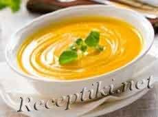 Крем-суп из тыквы с апельсином