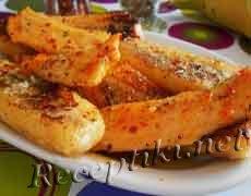 Куриное филе запеченное с бананами