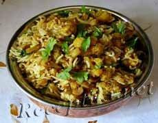 Пряный рис басмати с овощами