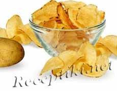 Чипсы или жареный картофель по-французски
